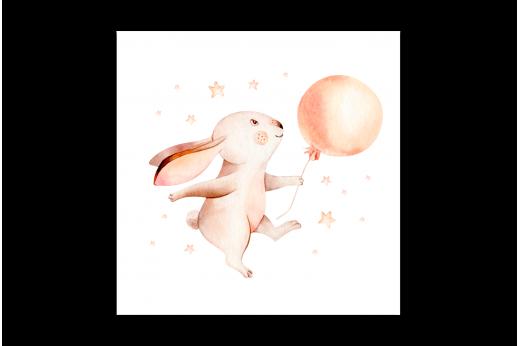 Картина Зайчик с шариком